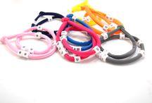 bracelets / Bracelets with colors, charms, beads, wires, symbols, more colors