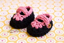 Crotchet baby items