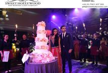 Sweet Hollywood / Enthuse your guests with delicious and their favourite Asian wedding cakes in London. Sweet Hollywood offers creative, innovative and yummy cakes to be the centre of attraction at your wedding. Reach us with your unique design, we also provide bespoke cake designing service.
