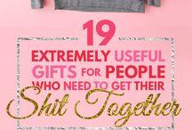 Adult - Stuff lists
