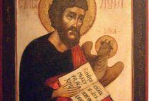 Luca Evangelista / Icone di San  Luca Evangelista,iconografo