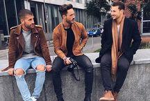 The Modern Man / Os blogueiros: Kosta Williams (@kosta_williams), Sandro (@sandro) e Daniel Fuchs (@magic_fox) do blog The Modern Man ●●