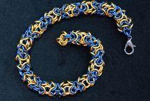 Chainmaille Bracelets / Chainmaille bracelets I have made. sunrockbazzar.etsy.com