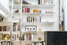 Bookcase ,fireplaces,av