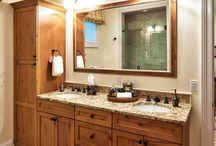 Bathroom ideas / by Luanne Castner