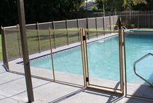 piscinas con rejas