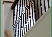 Metal - Staircases with metal spindles / Make a feature of your staircase with metal spindles to contrast with timber parts