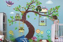 Kinderzimmer Ideen | Deco 4 Kids / Schöne Ideen fürs Kinderzimmer. Niedlich, bunt und zum Träumen. Entdecke #Kinderzimmerdeko mal anders. #Kids #Wandtattoo #Kindermotive #Kinderbilder #Leinwandbilder #Fototapete #Bilder #Lampen #Fenstersticker
