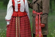 Lithuanian Woven Bands / Folk costume and woven bands from Lithuania