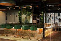 Restaurant\bar interiors