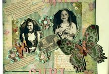 PRIMA / Prima product based scrapbooking and altered art by fairyrocks- Pam Colosimo
