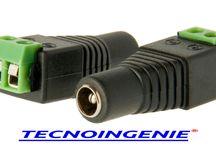 CONECTORES PARA CORRIENTE DIRECTA 5.5 X 2.1 / CONECTORES WWW.TECNOINGENIE.COM