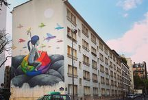 street art. seth globepainter