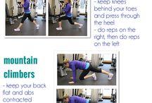 Gettin fit!  / by Jackie Goebel