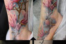 Tattoo magnolia