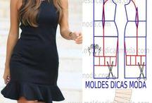 costurando / corte e costura, moldes, mod...