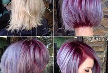 Hårfärger/frisyrer
