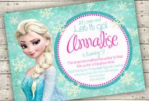 Frozen Birthday Fun / by Marcy {simply sprout}
