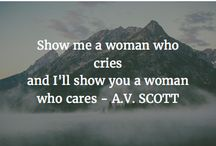 Quotes by A.V. SCOTT