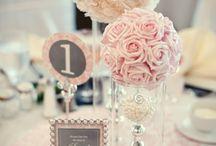 Virág asztali dekor
