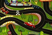 Ideas for kids / Car tracks