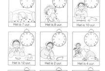 4x wijzer tijd (uur,jaar,eeuw,kalender)