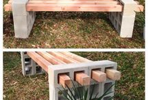 Out door benches