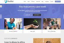 nonprofit HTML