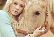 Pretty Girls & Pretty Horses / This board is dedicated to inspiration for a shoot idea I have involving a pretty girl and a pretty horse! :)