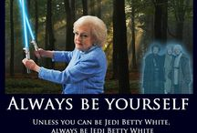 I love Betty White