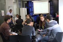 Fundación Créate / Los alumnos de 4º de ESO del CE Ponce de León (Madrid) presentan sus proyectos a empresas del sector, al amparo de la iniciativa que la Fundación Créate promueve para llevar el emprendimiento a los jóvenes. / by Interxion España Data Center