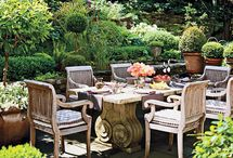 green inspiration / patio, garden, spa inspiration