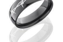 BARBED WIRE  / by WEDDINGRINGS.COM
