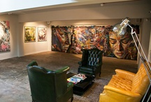 art gallery ideas / by Anna Maria Whetstine