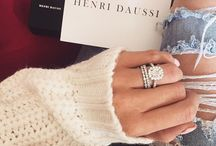 Rings and Clothes / Mark Bronner Diamonds pins his favorite photos with engagement rings and style