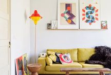 Cheerful Interiors / Only the happiest of happy places. Happy homes, fun decoration ideas.