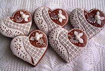 Medovníčky srdcia
