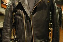 ramones / leather jacket / leather jacket