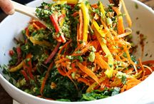 salad ideas / Delicious salads that are easy to make, lunch ideas and summer meals.