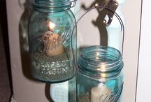PORCH DIY IDEAS / Candle holders