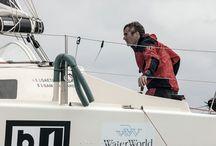 Les Sables Horta Les Sables / Gaetano a luglio 2013 partecipa alla regata oceanica Les  Sables Horta Les Sables con Sam Manuard. Skipper e progettista di bet1128. La coppia riesce a conquistare il terzo posto nella seconda manche della regata