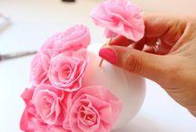 decoracion rosa