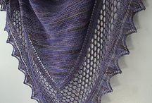 Knitting for shoulders
