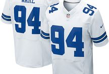 Cowboys #94 DeMarcus Ware Home Team Color Authentic Elite Official Jersey