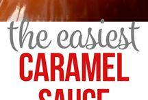 Karamel sos