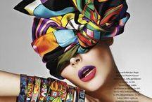Silk scarves photography