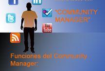 Funciones de un Community Manager / En este tablero compartimos una serie de filminas donde explicamos cuales son las labores principales de un Community Manager, una profesión que en estos momentos esta muy minusvalorada.