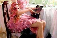 vestidos de noiva,unha,maquiagem,arte etc... / tudo,sobre a mulher