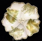 Antique Oyster Plates