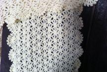 Écharpes crochet